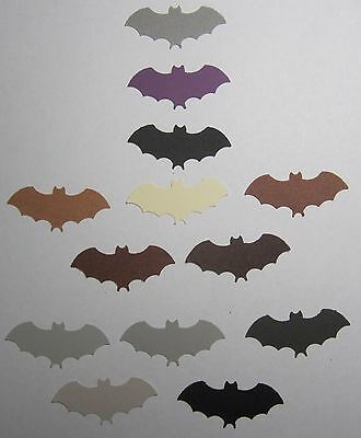 Halloween Fledermaus 1 1 2 Set Lot Of 50 Punch-Outs Ausschnitte U-Pick Farbe