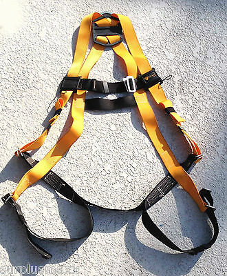 Miller Titan Harness Black -yellow Weight Capacity To 350 Lbs. Med-lg Poly Web