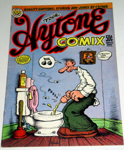 YOUR HYTONE COMIX #1  KEY ISSUE 1ST PRINT ROBERT CRUMB