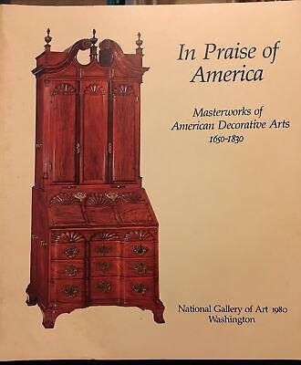 Vintage 1980 In Praise Of America Masterworks Decorative Arts National Gallery