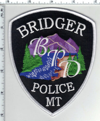 Bridger Police (Montana) Shoulder Patch - new from the 1980