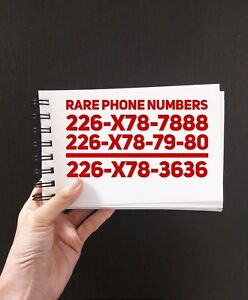 226 Area Code Rare Numbers Easy To Remember