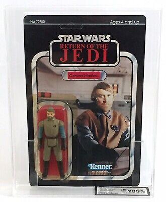 Star Wars Return Of The Jedi General Madine UKG 85 AFA Vintage Kenner Graded*