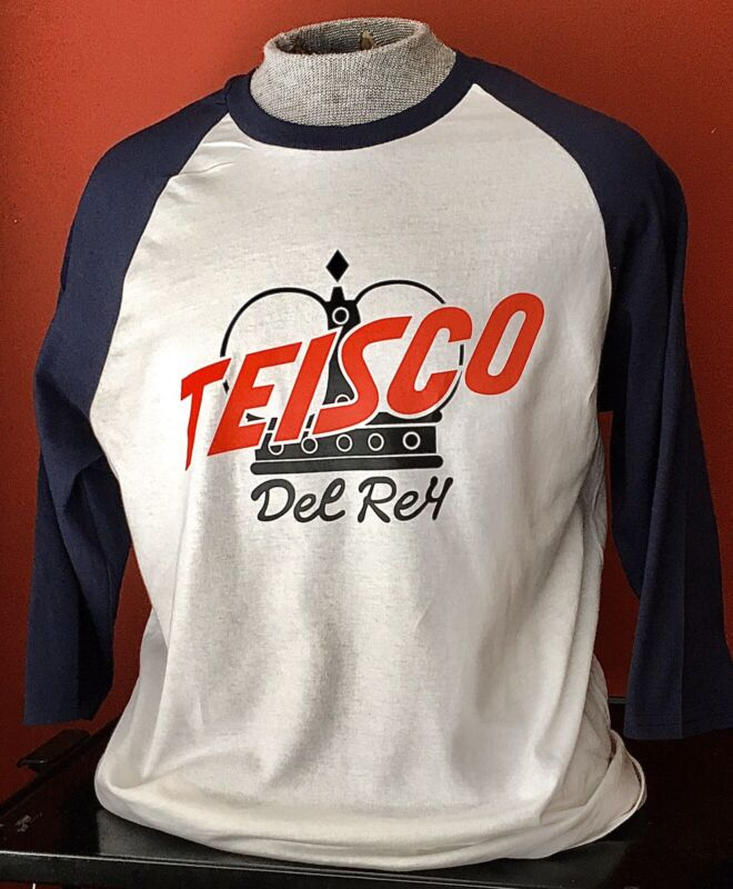 TEISCO GUITAR AMP BASEBALL T-shirt size XL and all other sizes