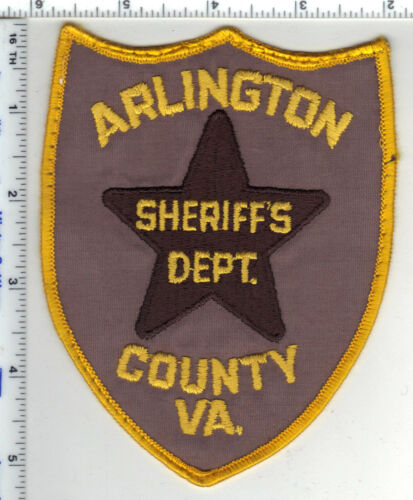 Arlington County Sheriff (Virginia) 1st Issue Uniform Take-Off Shoulder Patch