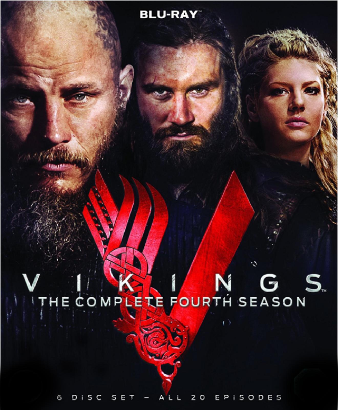 vikings saison 4 complete (français) blu ray neuf