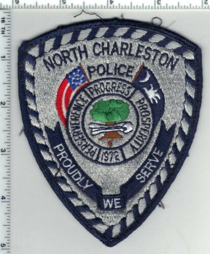 North Charleston Police (South Carolina) 4th Issue Uniform Take-Off Patch