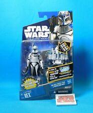 captain rex cw62 figure star wars the clone wars 2011 hasbro new on card | ebay