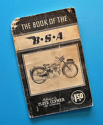 1936-39 BSA G14 Y13 M23 M22 M21 B26 B25 B23 B21 C10 C11 Motorcycle Manual Book