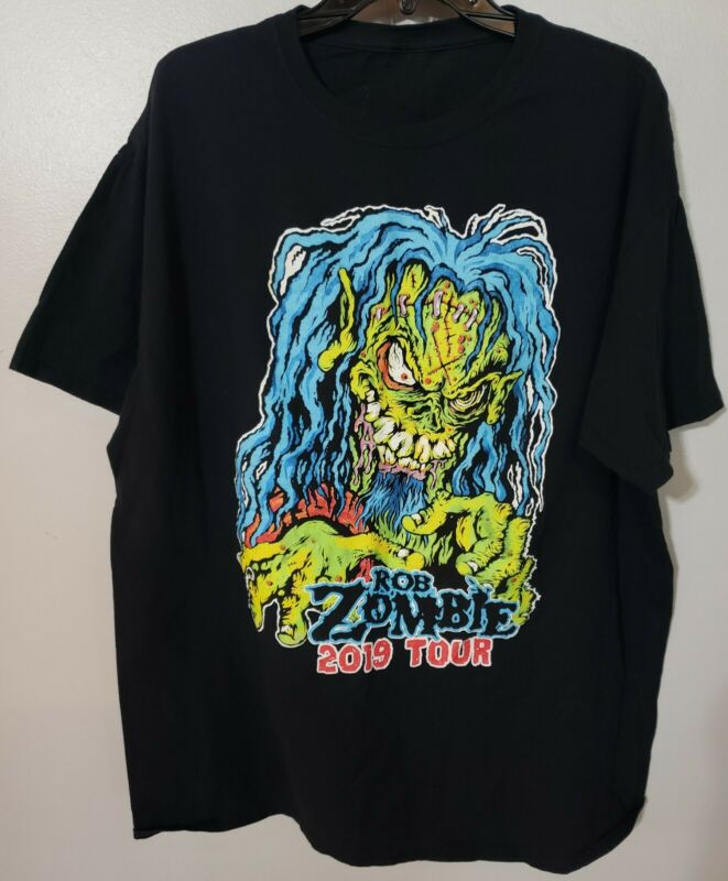 Rob Zombie T- Shirt 2019 Tour. Pre-owned. Size Medium.
