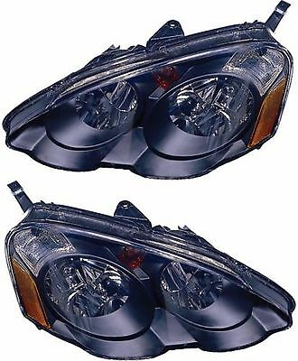 TIFFIN ALLEGRO BUS 2010 2011-2013 PAIR BLACK HEADLIGHTS HEAD LIGHTS RV - SET