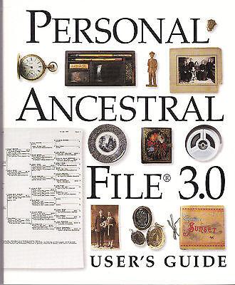 Руководство Personal Ancestral File 3.0 -