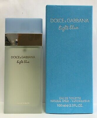 Dolce & Gabbana Light Blue 3.3oz / 100ml Women's Eau de Toilette Spray New