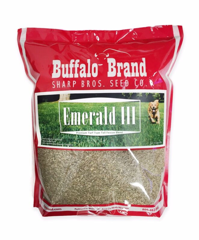 Emerald III Turf Type Tall Fescue By Sharp Bros. Seed Co.
