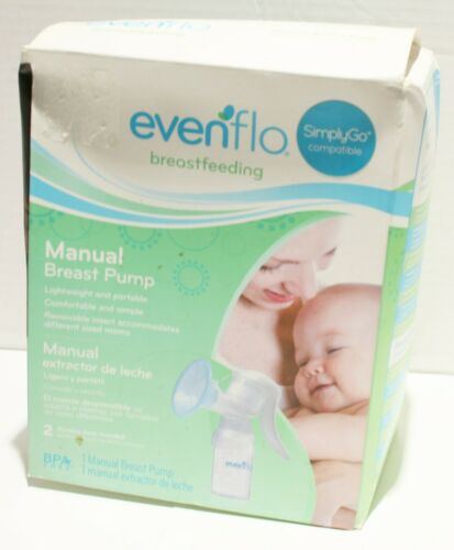 SEALED Evenflo Manual Breast Pump w/5oz Collection Bottle
