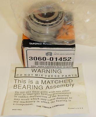 Amat 3060-01452 Match Set Bearings Timken Roller Bearing Set Lm1949 90022