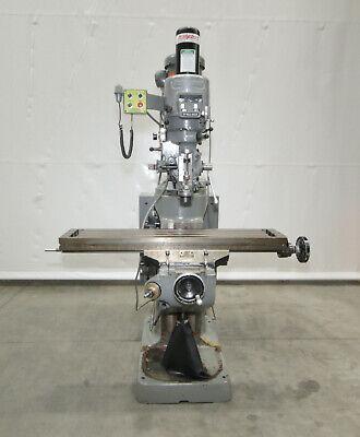 14130 Bridgeport Series I Vertical Knee Mill 9 X 48 Table