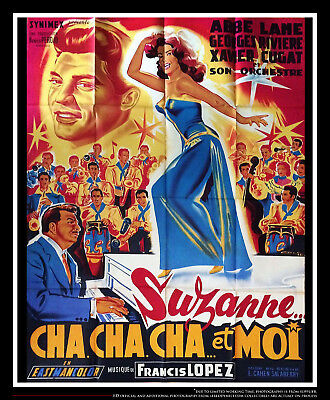 SUSANA Y YO 4x6 ft Vintage French Grande Original Movie Poster 1957