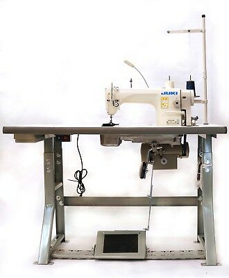 JUKI DDL-8700H Industrial Sewing Machine with Stand,Servo Motor &LED LAMPS USA