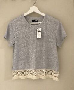 BNWT Abercrombie Lace Top size XS