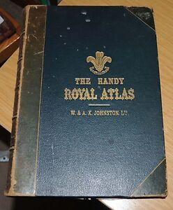 Handy-Royal-Atlas-1905-W-A-K-Johnston-Ltd