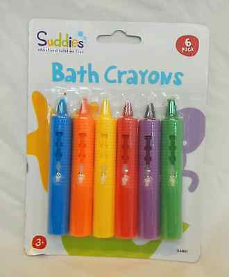 Suddies Bath Crayons - Six Pack - BNIB