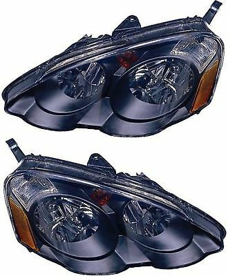 TIFFIN ALLEGRO BUS 2010 2011-2013 PAIR BLACK HEADLIGHTS HEAD LIGHTS LAMPS RV