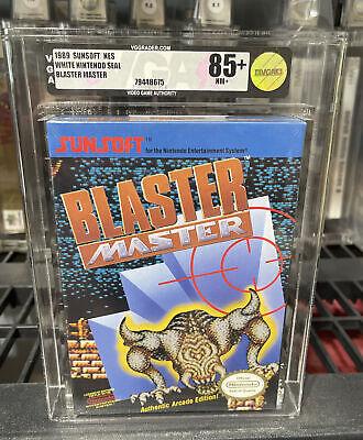 Blaster Master NES Nintendo Original GRAIL MINT VGA 85+ Brand New Factory Sealed