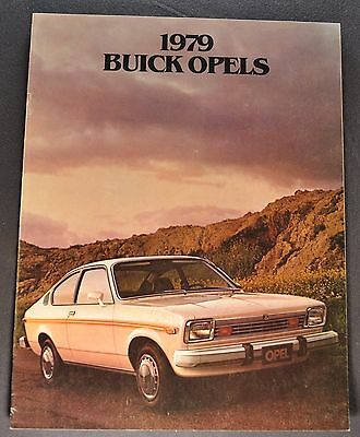 1979 Buick Opel Catalog Sales Brochure Excellent Original 79