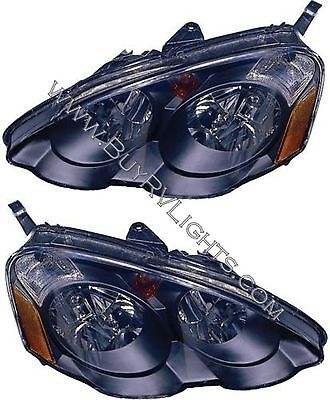 TIFFIN ALLEGRO BUS 2010 2011-2013 PAIR BLACK HEAD LAMPS HEADLIGHTS FRONT RV
