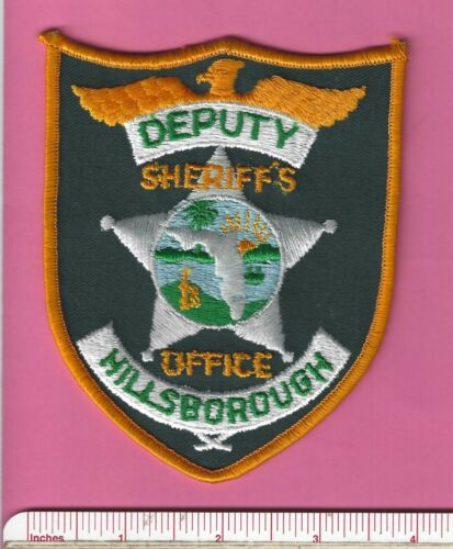 Hillsborough County FL Florida State of Fla Sheriff Office Police Shoulder Patch