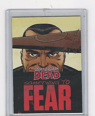 Walking Dead series 2 Card Something To Fear STF8