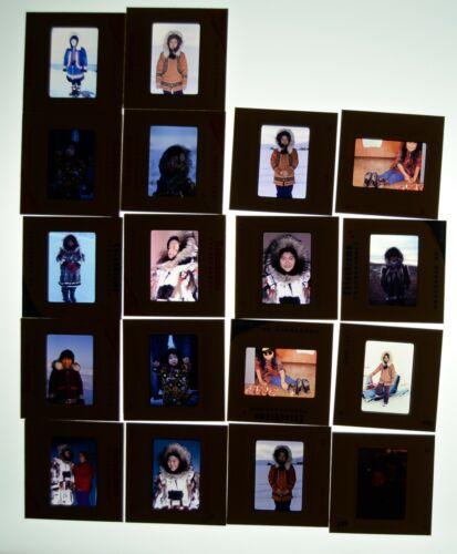35mm Slides Photos Jim Baenen Native American Indian Eskimo Alaska Canada Vtg
