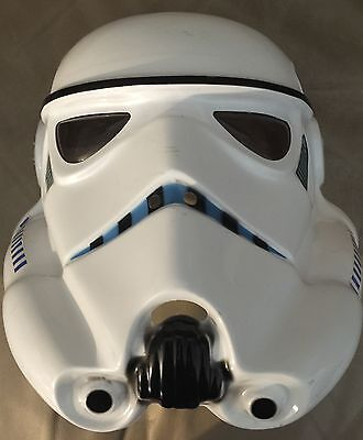 Star Wars Stormtrooper PVC Adult Costume Mask Rubies Licensed New - Star Wars Mask