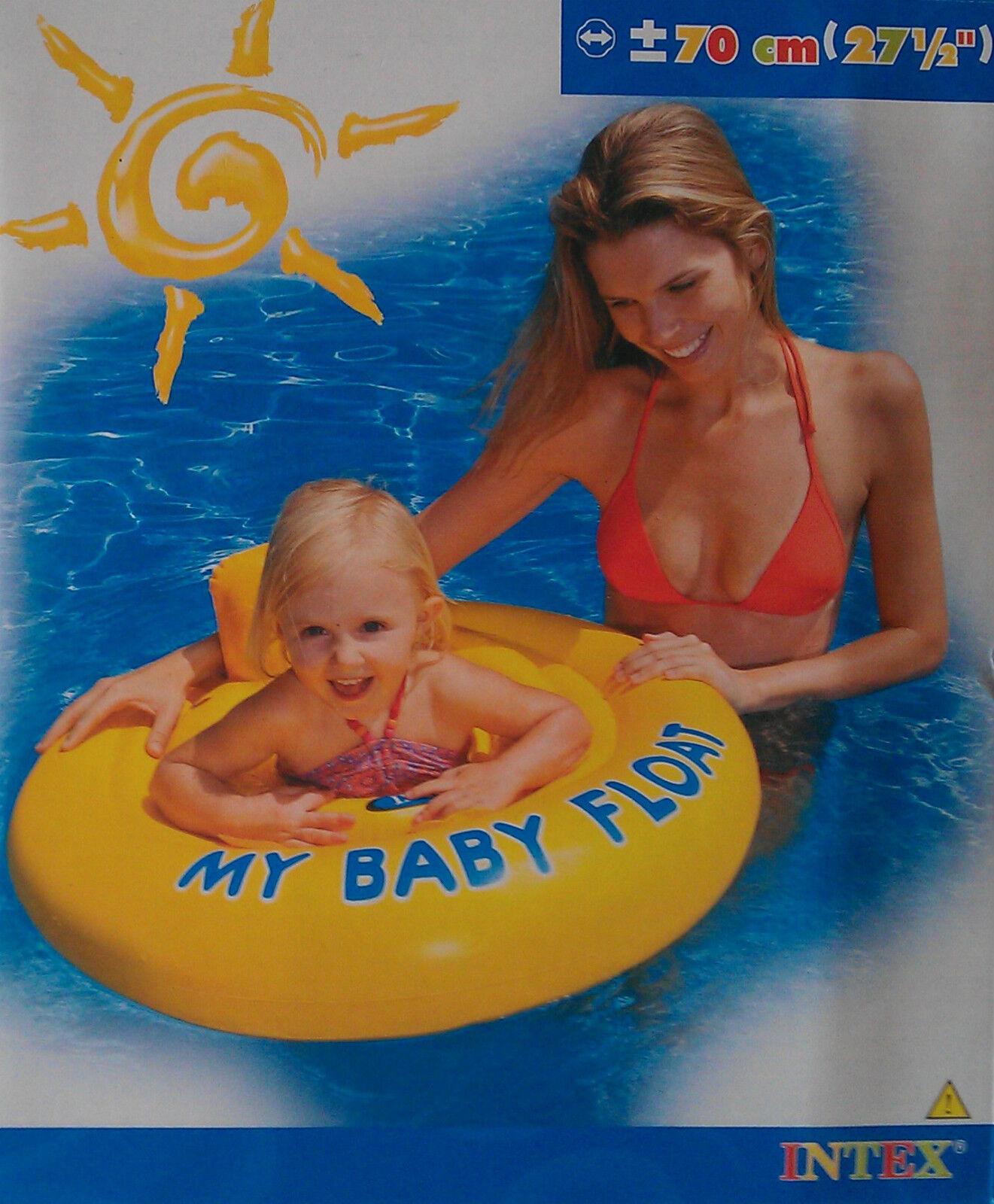 Intex My Baby Float Schwimmhilfe Schwimmring Schwimmsitz bis 11 KG Kinder , (K)