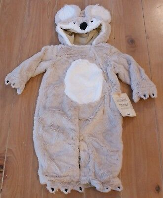 NWT Pottery Barn Kids BABY KOALA Halloween Costume Infant 0-6 Months - Pottery Barn Baby Halloween Costumes