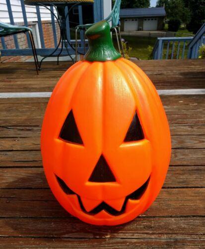 Halloween Pumpkin Blow Mold Lighted Yard Decor Outside Empire Jack O Lantern