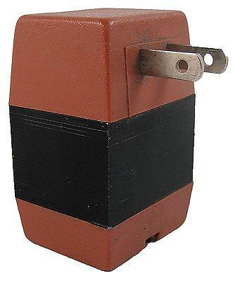 50W Watt Step Up Travel Voltage Converter Flat Pin 110 to 220 Volt Transformer (110 Volt To 220 Volt Step Up Transformer)