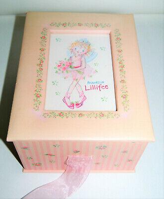 Prinzessin Lillifee große BOX Dose Foto Rosa Ballerina Spiegelburg Coppenrath