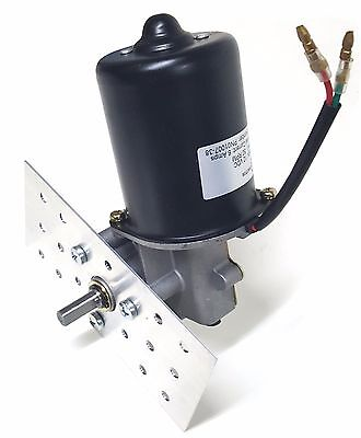 Makermotor 38 D Shaft Electric Gear Motor 12v 100 Rpm Gearmotor Mount Bracket