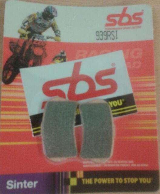 SBS Racing OffRoad Sinter FRONT BRAKE PADS GAS GAS TXT 280 - 2014 2015 939RSI