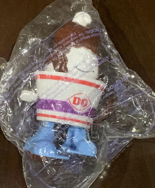 Dairy Queen DQ 1998 Wind-Up Ice Cream Walking Sundae Kids Toy Pick-nic Meal NIP