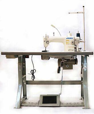 Juki Ddl-8700 Sewing Machine With Servo Motor Stand Led Lamp Free Shipping