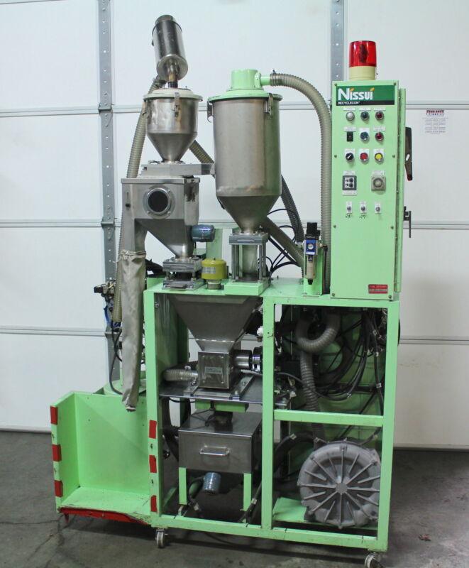 Nissui BS-01 Recyclecon Virgin Plastics Mixer Sprue & Runner Return