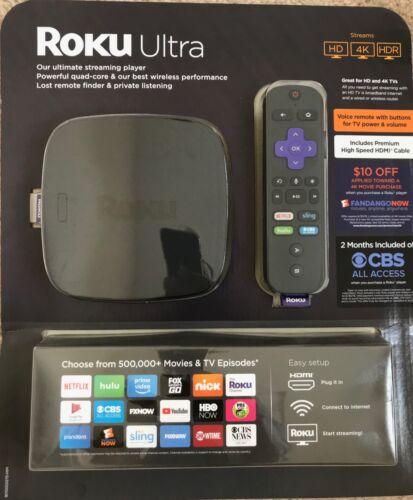 Roku Ultra Streaming Media Player Black 4660R