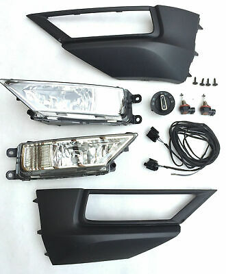 Fog Light Retrofitting Set Kit Complete Set Vw Tiguan 5NA AD1 2016
