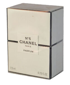 Chanel No.5 Pure Parfum 7.5mL/.25 OZ Brand new in sealed Box