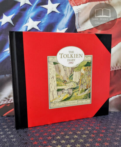 NEW J.R.R. Tolkien Centenary Diary 1992 Illustrated Journal Hobbit Lord Rings