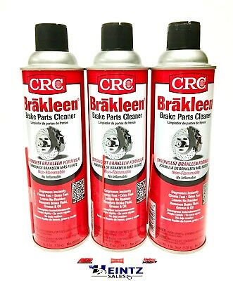 Crc Brakleen 05089 Brake Parts Cleaner  Degreaser   19 Oz Can  3 Pack