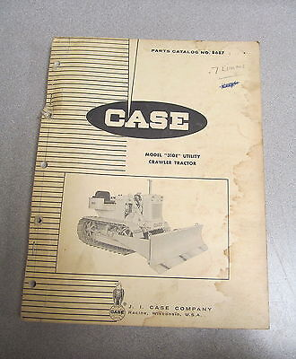 Case 310e Utility Crawler Tractors Parts Catalog Manual B687